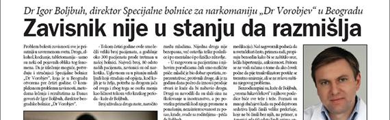 danas 15 jun 2011 dr vorobjev
